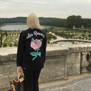 Valfre au revoir jean jacket *Worn in Paris!